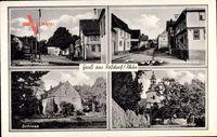 Roßdorf Rhön, Bismarckplatz, Kirche, Schloss, Straße der SA