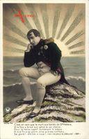 Napoleon Bonaparte, C'est en vain que la mort aux bords de Ste. Helene..