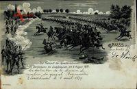 Elsaßhausen Bas Rhin, Todesritt der Kavalleriedivision de Bonnemains 1870