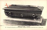 Cercueil de Napoleon, en bois d'ebene, Musee de l'Armee, Chapelle