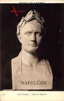 Buste de Napoleon, Lorbeerkranz, Salle Turenne, Musee de l'Armee