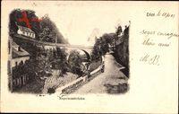 Trier in Rheinland Pfalz, Blick auf die Napoleonsbrücke
