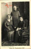 Luise von Preußen, Großherzog Friedrich II. von Baden, Hilda von Nassau