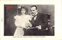 Großherzog Ernst Ludwig von Hessen Darmstadt, Prinzessin Elisabeth
