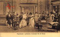 Napoleone i presenta il neonato Re di Roma, Napoleon, König von Rom