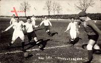 Fußballspiel, Niederösterreich gegen Süddeutschland, Sturm, Torwart