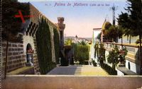 Palma Mallorca Balearische Inseln, Calle de la Seo, Treppen