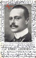 Großherzog Ernst Ludwig von Hessen Darmstadt, Portrait