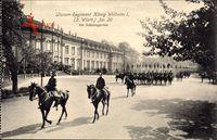 Regiment Ludwigsburg, Ulanen Regiment König Wilhelm I. 2 Württ No 20, Schloss
