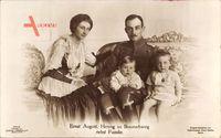 Ernst August, Herzog zu Braunschweig mit Familie, Viktoria Luise,Liersch 7740
