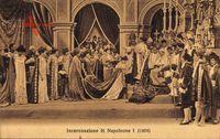 Incoronazione di Napoleone I, 1804, Napoleon Bonaparte, Krönung