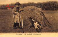 Napoleone I e la sentinella addormentata, Schlafende Wache, Napoleon