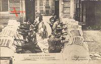 Berlin, Straßenkämpfe, Zweifrontenbarrikade, Schützenstraße, Märzkämpfe 1919