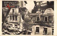Berlin, Zerstörung durch Mine, Alte Schützenstraße, Märzkämpfe 1919
