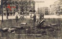 Berlin, Straßenkämpfe, Minenwerfer, Alexanderplatz, Märzkämpfe 1919