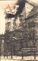 Berlin, Artillerievolltreffer im Marstall, Märzkämpfe 1919