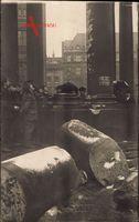 Berlin, Straßenkämpfe 1919, Gesprengte Kolumne, Passanten