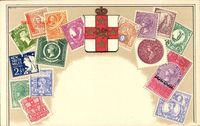 Briefmarken Australien, New South Wales, Shillings