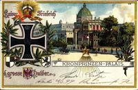 Berlin, Kronprinzen Palais, Eisernes Kreuz, Wappen