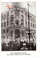 Berlin, Berliner Tageblatt nach der Beschießung, Spartakusaufstand 1919