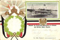Berlin Köpenick Grünau, Preuß. Kaiserpaar, Ruder Regatta, Alexandria