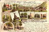 Gorze Moselle, St. Clement, 5. Division, Denkmäler, Schlacht, 16 Aug 1870