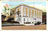 Trenton New Jersey, Knights of Columbus Building, Autos