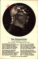 Lied Das Bismarcklied, Heinrich Kühnlein, Otto Bismarck der edle Ritter..