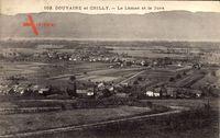 Douvaine et Chilly Haute Savoie, Le Léman et le Jura, Ort, Felder