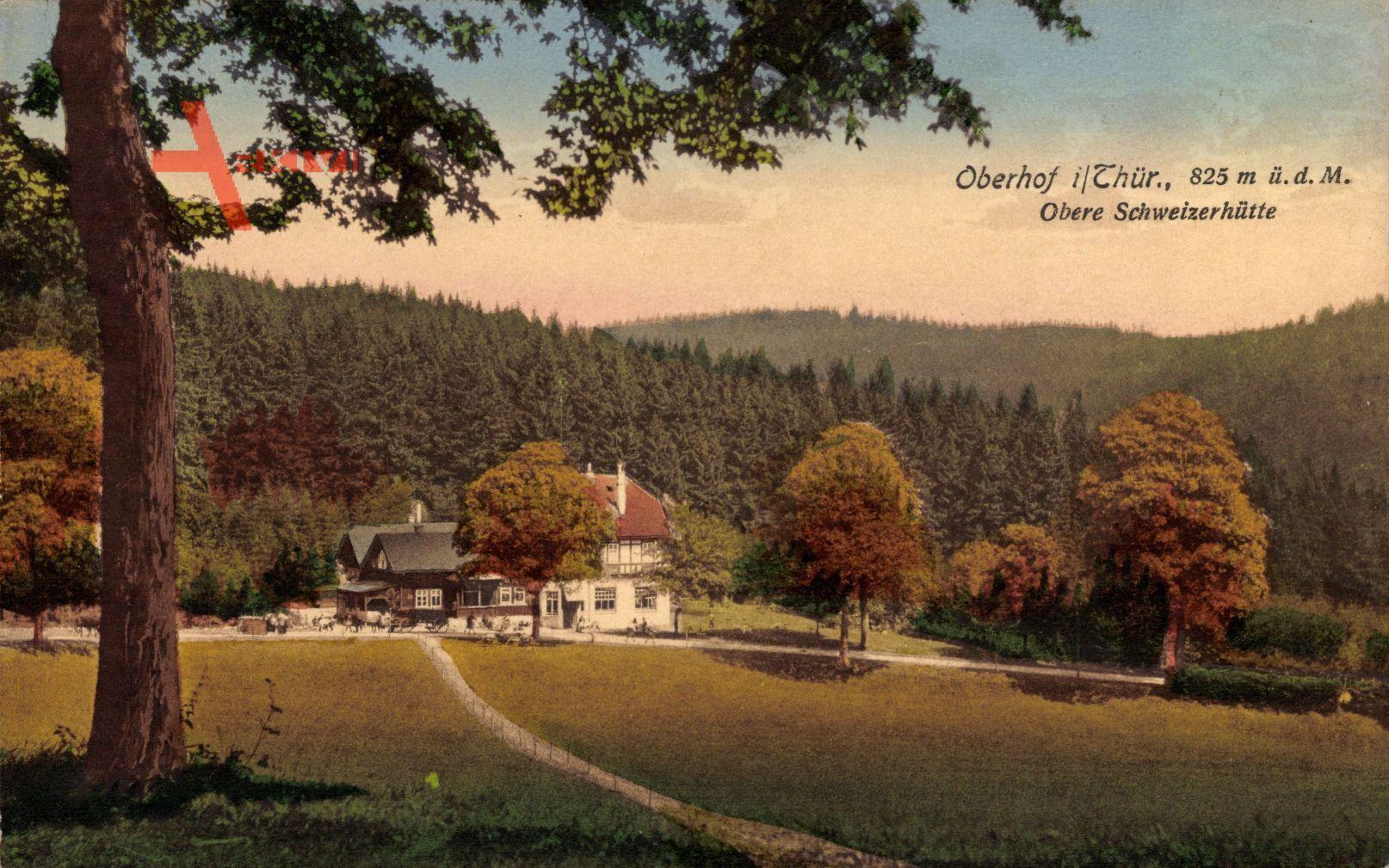Oberhof im Thüringer Wald, Obere Schweizerhütte, Herbst