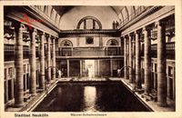 Berlin Neukölln, Das Männer Schwimmbassin im Stadtbad