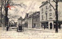 Oberhausen Sterkrade, Blick in die Bahnhofstraße, Kutsche