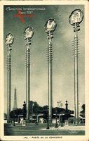 Paris, Weltausstellung 1937, Expo, Porte de la Concorde, Eiffelturm