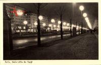 Berlin Friedrichshain, Die Stalinallee bei Nacht, Heute Karl Marx Allee