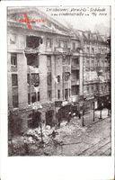 Berlin Kreuzberg, Vorwärts Gebäude i.d. Lindenstraße 1919, Märzkämpfe