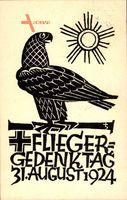 Fliegergedenktag, 31 August 1924, Adler, PP81 C4