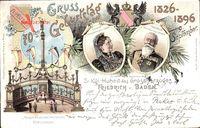 Großherzog Friedrich von Baden, Großherzogin Louise von Baden, 9 Sept 1896