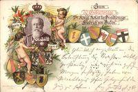 Großherzog Friedrich von Baden, 70 Geburtstag, 9 Sept 1896