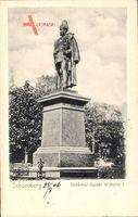 Berlin Schöneberg, Blick auf das Denkmal Kaiser Wilhelm I.