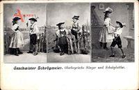 Geschwister Schrögmeier, Oberbayrische Sänger und Schuhplattler