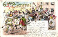 Gruß vom Karneval, Karnevalsgemeinschaft, Festlichkeiten im Ort