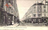 Lons le Saunier Jura, Rue Lecourbe, ancienne rue Neuve, Pharmacie, Tabacs