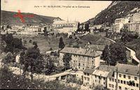 St. Claude Jura, L'Hopital et la Cathedrale, Teilansicht vom Ort, Häuser