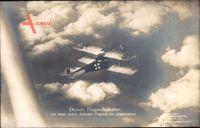 Deutsche Fliegeraufnahme, Sanke 1028, Kampfflugzeug, Biplan