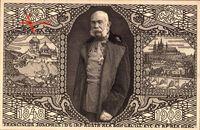Portrait Kaiser Franz Joseph I. von Österreich zum 60jährigen Thron-Jubiläum 1908