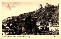 Radebeul, Berggaststätte Friedensburg, Herbert Heinecke, Berg, Häuser