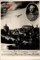 Nürnberg Fürth, Fliegertage 1924, Kronprinz Rupprecht von Bayern