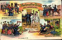 Zukunft Zukunftsbild des Landsturm's, Musterung, Frauen in Uniform