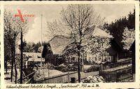 Rehefeld Zaunhaus Altenberg Erzgebirge, Sporthäusl, Frühling