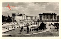 Berlin Friedrichshain, Stalinallee, Denkmal Stalins, Heute Karl Marx Allee
